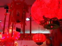 Κινεζικό φανάρι εγγράφου για την εσωτερική και υπαίθρια διακόσμηση στοκ φωτογραφίες με δικαίωμα ελεύθερης χρήσης