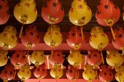 κινεζικό φανάρι παραδοσι&a στοκ εικόνα με δικαίωμα ελεύθερης χρήσης