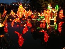 κινεζικό φανάρι φεστιβάλ Στοκ Εικόνες