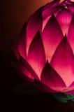 Κινεζικό φανάρι Lotus για το μέσο φεστιβάλ φθινοπώρου Στοκ εικόνα με δικαίωμα ελεύθερης χρήσης