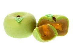 κινεζικό φεγγάρι κέικ μήλων Στοκ Εικόνα
