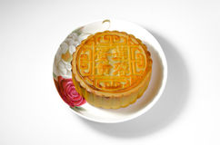 κινεζικό φεγγάρι κέικ Στοκ Εικόνα