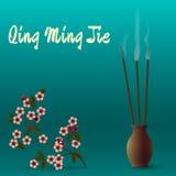 Κινεζικό φεστιβάλ της Qing Ming Jie του καθαρού φωτός Στοκ Φωτογραφίες