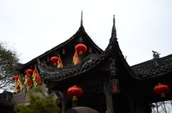 Κινεζικό χιλιετές αρχαίο architecture2 στοκ εικόνες με δικαίωμα ελεύθερης χρήσης