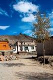 κινεζικό χωριό Στοκ εικόνες με δικαίωμα ελεύθερης χρήσης