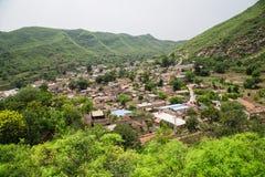 κινεζικό χωριό Στοκ εικόνα με δικαίωμα ελεύθερης χρήσης
