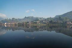 Κινεζικό χωριό Yunnan Στοκ εικόνα με δικαίωμα ελεύθερης χρήσης