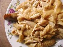 Κινεζικό ψημένο πιάτο κοτόπουλου στοκ φωτογραφίες με δικαίωμα ελεύθερης χρήσης