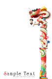 κινεζικό ύφος αγαλμάτων δ& Στοκ φωτογραφίες με δικαίωμα ελεύθερης χρήσης