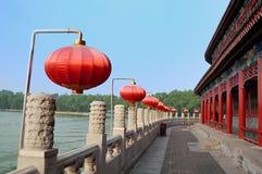 κινεζικό ύφος αναχωμάτων Στοκ φωτογραφία με δικαίωμα ελεύθερης χρήσης