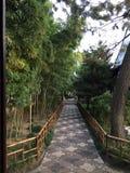 Κινεζικό ύφος κήπων Στοκ φωτογραφίες με δικαίωμα ελεύθερης χρήσης
