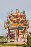 κινεζικό ύφος περίπτερων Στοκ φωτογραφία με δικαίωμα ελεύθερης χρήσης