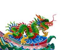 Κινεζικό ύφος δράκων Στοκ εικόνα με δικαίωμα ελεύθερης χρήσης