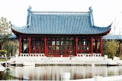 κινεζικό ύφος σπιτιών στοκ φωτογραφίες