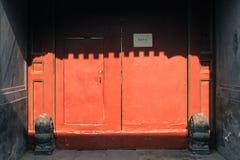 Κινεζικό doorknocker Στοκ εικόνα με δικαίωμα ελεύθερης χρήσης