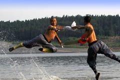 κινεζικό fu kung Στοκ εικόνες με δικαίωμα ελεύθερης χρήσης