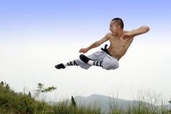 κινεζικό fu kung Στοκ εικόνα με δικαίωμα ελεύθερης χρήσης