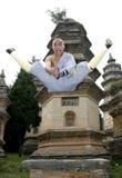 κινεζικό fu kung Στοκ φωτογραφία με δικαίωμα ελεύθερης χρήσης