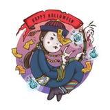 Κινεζικό Hopping φάντασμα βαμπίρ για αποκριές στοκ εικόνα με δικαίωμα ελεύθερης χρήσης