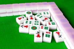 κινεζικό mahjong στοκ εικόνες
