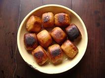 Κινεζικό mantou ψωμιού επιδορπίων χρυσό Στοκ φωτογραφία με δικαίωμα ελεύθερης χρήσης