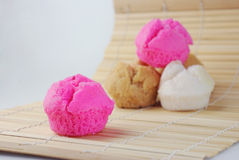 Κινεζικό muffin στο χαλί Στοκ Εικόνες
