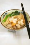 κινεζικό noodle wanton Στοκ Εικόνα
