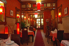 κινεζικό restaurant01 Στοκ Φωτογραφία