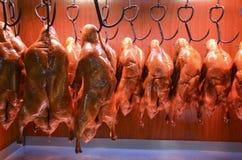 κινεζικό roast εστιατορίων παπιών του Πεκίνου στοκ εικόνες