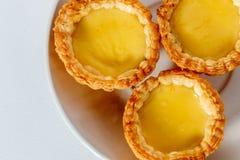 κινεζικό tarts εστιατορίων αυγών κόκκινο κρασί Στοκ εικόνες με δικαίωμα ελεύθερης χρήσης