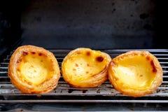 κινεζικό tarts εστιατορίων αυγών κόκκινο κρασί Στοκ φωτογραφία με δικαίωμα ελεύθερης χρήσης
