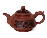 Teapot αργίλου Στοκ Εικόνα