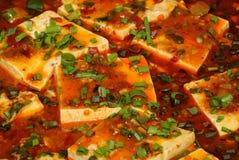 Κινεζικό tofu Στοκ εικόνα με δικαίωμα ελεύθερης χρήσης