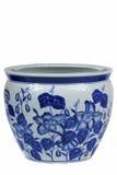 κινεζικό vase πορσελάνης Στοκ φωτογραφίες με δικαίωμα ελεύθερης χρήσης