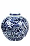 κινεζικό vase πορσελάνης Στοκ φωτογραφία με δικαίωμα ελεύθερης χρήσης