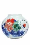 κινεζικό vase πορσελάνης Στοκ εικόνες με δικαίωμα ελεύθερης χρήσης