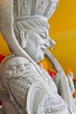 Κινεζικό warior βράχου στοκ φωτογραφίες