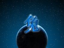 κινεζικό zodiac κουνελιών Στοκ Εικόνα