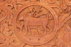 Κινεζικό zodiac πιθήκων ζωικό σημάδι Στοκ Φωτογραφία