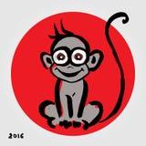 κινεζικό zodiac πιθήκων Στοκ εικόνες με δικαίωμα ελεύθερης χρήσης