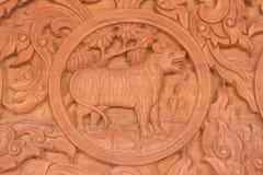 Κινεζικό zodiac τιγρών ζωικό σημάδι Στοκ εικόνα με δικαίωμα ελεύθερης χρήσης