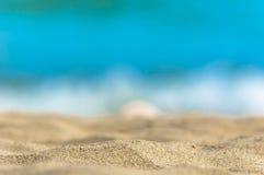 Κινηματογράφηση σε πρώτο πλάνο άμμου Στοκ Εικόνα