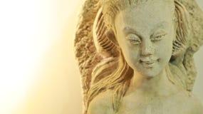 Κινηματογράφηση σε πρώτο πλάνο αγαλμάτων αγγέλου στοκ εικόνες