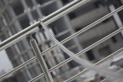 Κινηματογράφηση σε πρώτο πλάνο αλυσίδων μετάλλων στοκ εικόνα με δικαίωμα ελεύθερης χρήσης