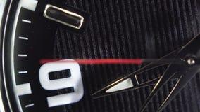 Κινηματογράφηση σε πρώτο πλάνο ενός ρολογιού χαλαζία φιλμ μικρού μήκους