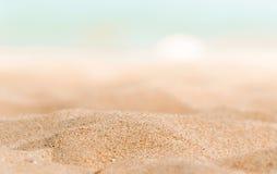 Κινηματογράφηση σε πρώτο πλάνο κάποιας άμμου Στοκ φωτογραφία με δικαίωμα ελεύθερης χρήσης
