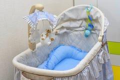 Κινηματογράφηση σε πρώτο πλάνο λίκνων μωρών Στοκ Εικόνες