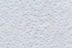 Κινηματογράφηση σε πρώτο πλάνο πετσετών εγγράφου με τη διάτρηση Στοκ εικόνα με δικαίωμα ελεύθερης χρήσης