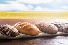 Κινηματογράφηση σε πρώτο πλάνο ποικίλων ψωμιών Στοκ φωτογραφίες με δικαίωμα ελεύθερης χρήσης