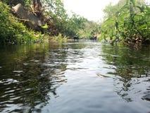 Κινηματογράφηση σε πρώτο πλάνο ποταμών Στοκ εικόνες με δικαίωμα ελεύθερης χρήσης